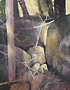 Myrtle Creek Painting by Dalas  Klein