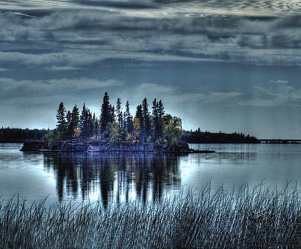 Manitoba Photograph - Naked Bay by Richard Baschak