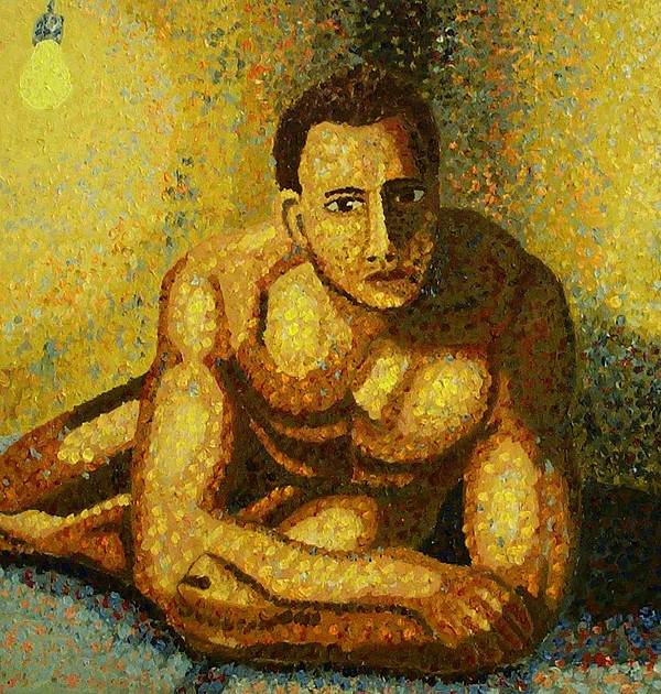 Nude Painting - Naked by Mats Eriksson