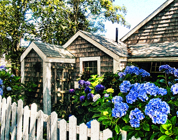 Nantucket Photograph - Nantucket Cottage No.1 by Tammy Wetzel