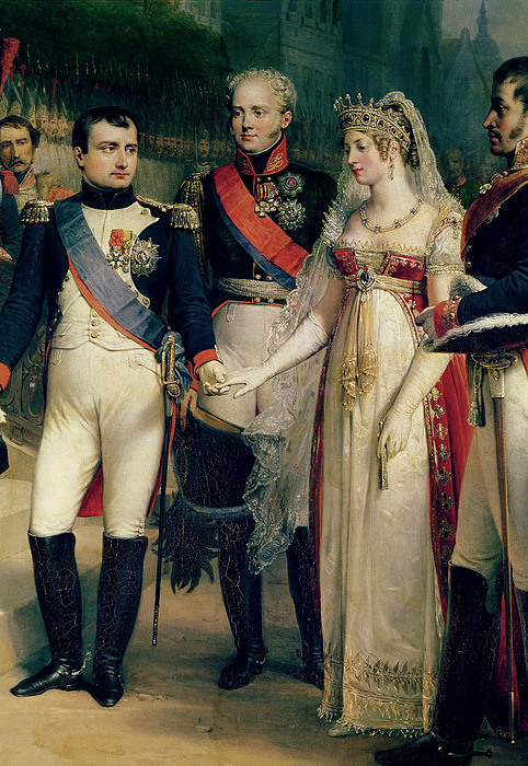 Napoleon Painting - Napoleon Bonaparte Receiving Queen Louisa Of Prussia by Nicolas Louis Francois Gosse