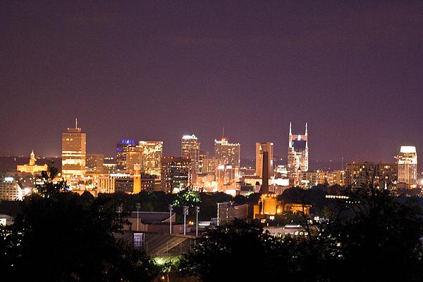 Nashville Photograph - Nashville Cityscape 3 by Douglas Barnett
