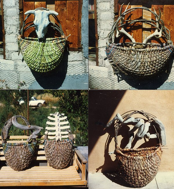 Natural Baskets Mixed Media by Stephen Hawks