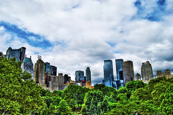 Manhattan Photograph - Nature In Metropolis by Randy Aveille