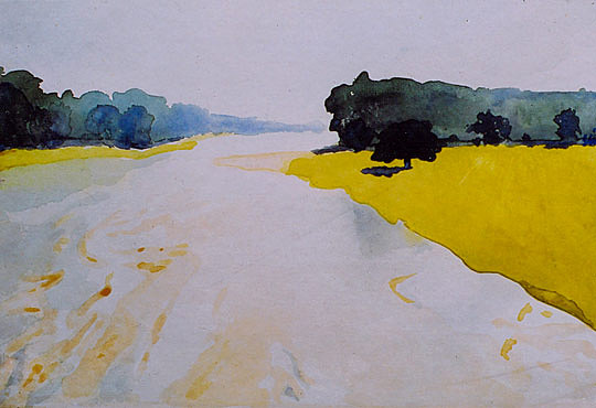 Landscape Painting - Nature by Sabyasachi Ghosh