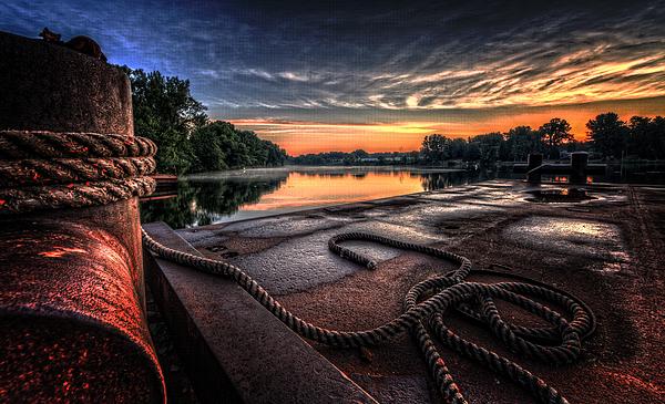 River Photograph - Nautical Sunrise by Everet Regal
