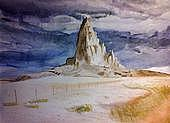 Landscape Painting - Navajo Land by Hal Bailey