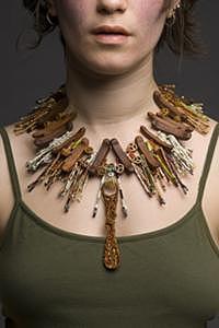 Necklace Mixed Media by Kerrin Pantelakis