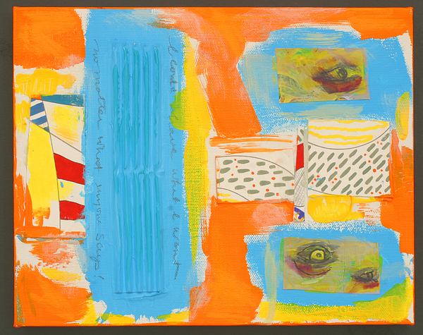 Abstract Painting - Neofrankenthal Copyright Two Thousand Nine J.a.moscariello by Jaye  Alison