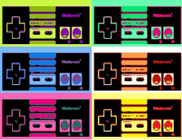 Nintendo Mixed Media - Nes Pop by Paul Van Scott