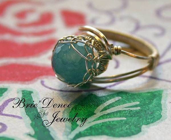 Jewelry Jewelry - Netted Angelite Gem In Sterling Silver by Brittney Brownell