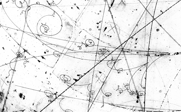 Salt Photograph - Neutrino Particle Interaction Event by Fermi National Accelerator Laboratory
