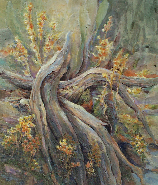 Landscape Painting - New Beginnings by Don Trout