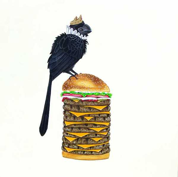 New...  Bk Decaburger Painting by Destiny Schwartz