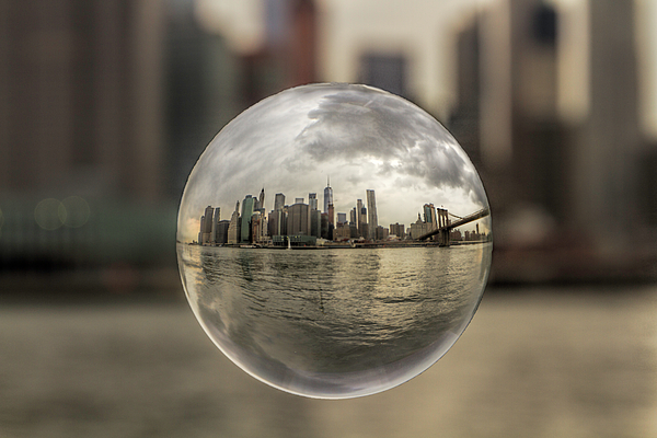 New Photograph - New York Bubble by Zev Steinhardt