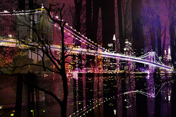 New York Mixed Media - New York City by Christine Mayfield