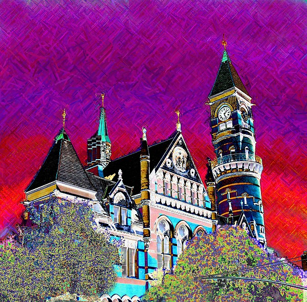 Multi Media Photograph - New York State Of Mind by Howard Lancaster