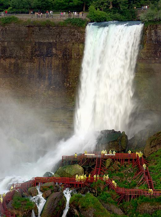 Niagara Photograph - Niagara America Fall-0094 by Sean Shaw