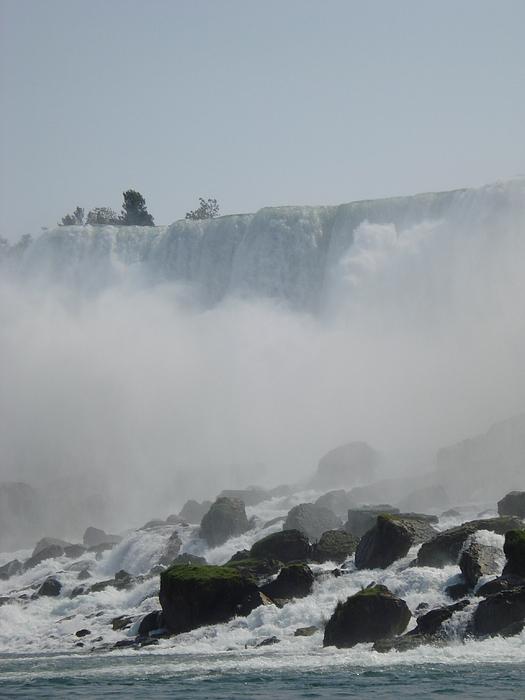 Waterfall Photograph - Niagara Waterfall In Ny by Victoria Wang