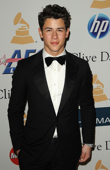 Nick Jonas Photograph - Nick Jonas In Attendance For Clive by Everett