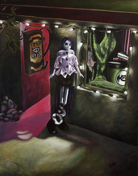 All Painting - Night 1 by Lori Keilwitz