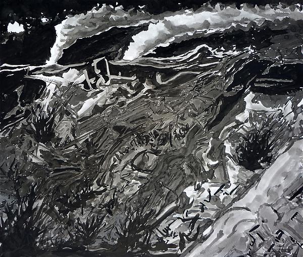 Biomechanical Painting - Night by David Frantz