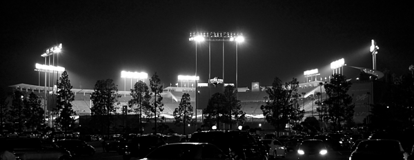 American Photograph - Night Game by Ricky Barnard