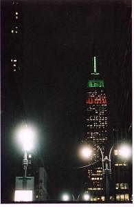 Night Lghts Nyc Photograph by Phil Kunin