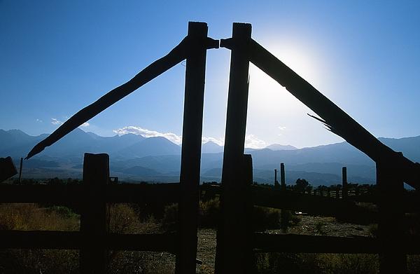 Owens Valley Photograph - Nirvana Gate by Gardie Lueders