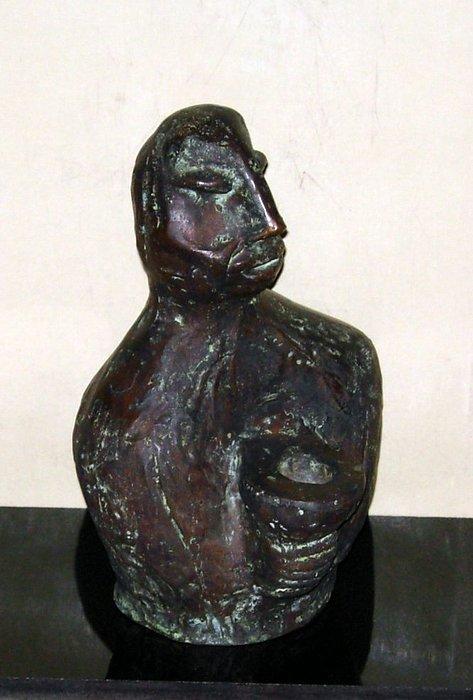 Male Torso Sculpture - No. 245 by Vijayan Kannampilly