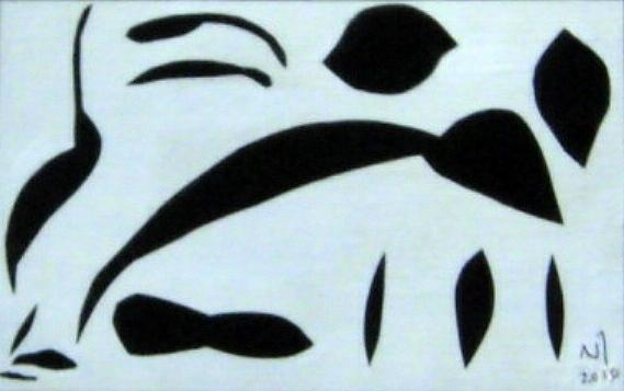 No. 346 Drawing by Vijayan Kannampilly