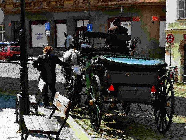 Impressionism Photograph - No Fare by Ivan Tamas