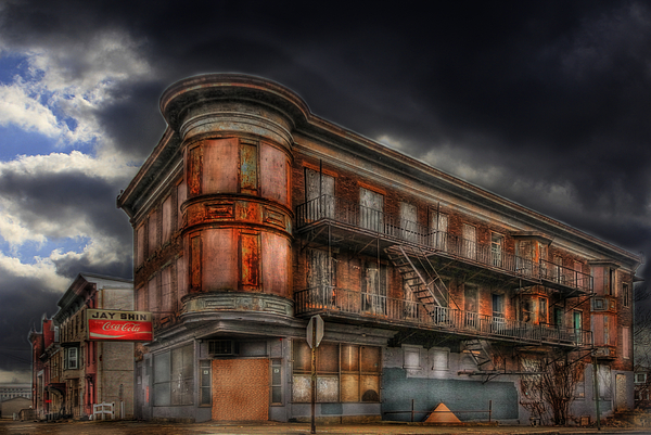 Vacant Photograph - No Vacancy by Shelley Neff