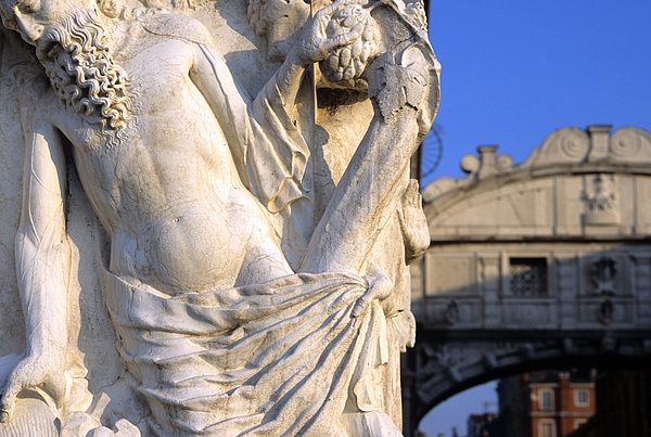 Venice Photograph - Noah On The Doges Palace In Venice by Michael Henderson