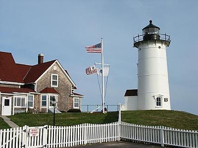 Lighthouse Photograph - Nobska Lighthouse by Tara Corbett