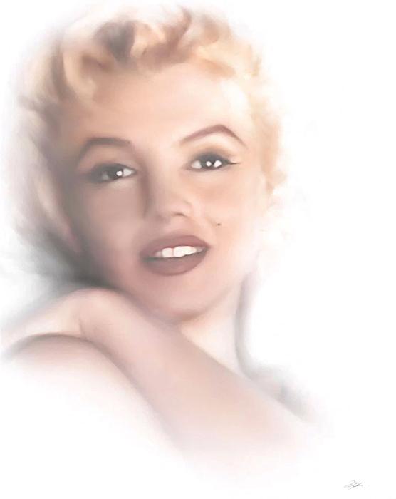Marilyn Monroe Digital Art - Norma Jeane by Peter Chilelli