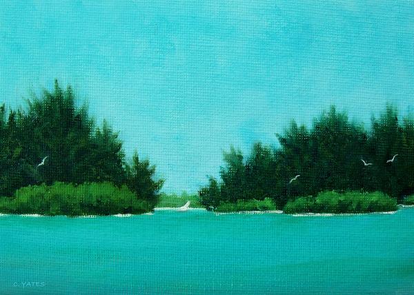 Florida Painting - North Bridge View 2 by Charles Yates