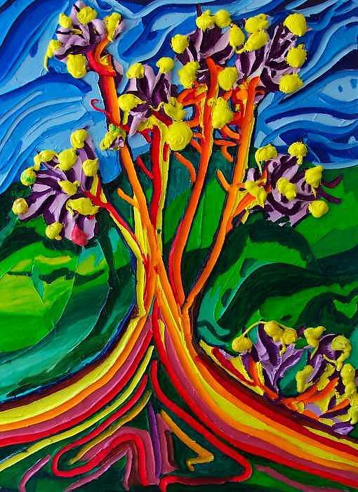 Not So Still Life Painting by Ira Stark