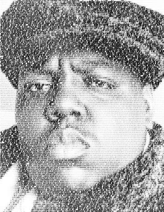 Notorious B.i.g. Juicy Lyrics Mosaic Digital Art by Paul ...
