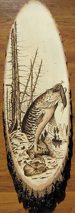 Water Pyrography - nr3 by Ladi and Jane   Lapin