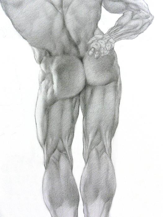 Nude Drawing - Nude 2b by Valeriy Mavlo