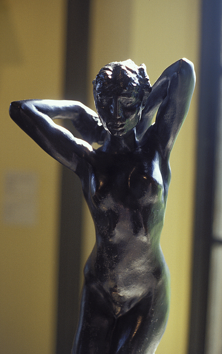 Woman Sculpture - Nude By Rodin by Carl Purcell