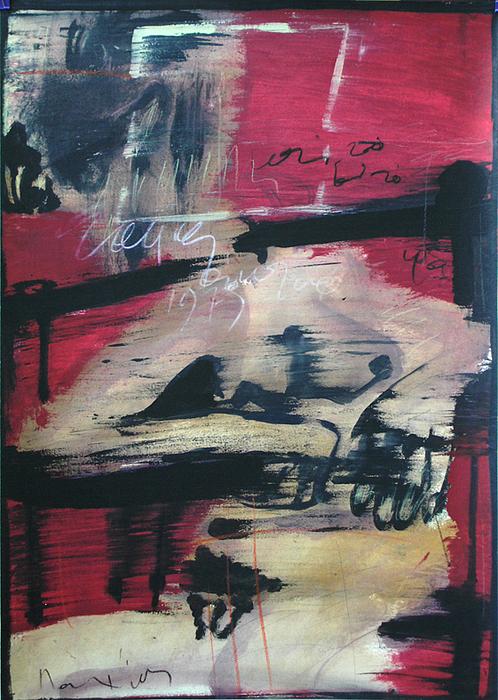 Nude Painting - Nude Female by Manolis Polymeris