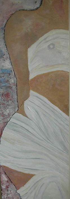 Venus Painting - Nude In Spa by Dorota Nowak