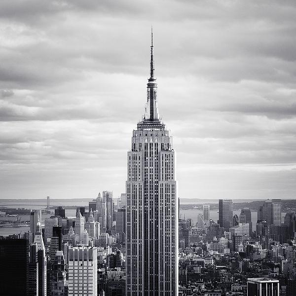 New Photograph - Nyc Empire by Nina Papiorek