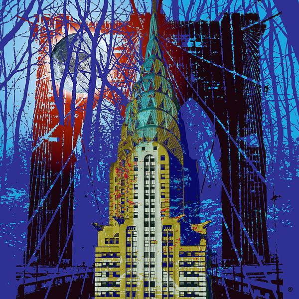 Modern Art Digital Art - Nyc Icons by Gary Grayson
