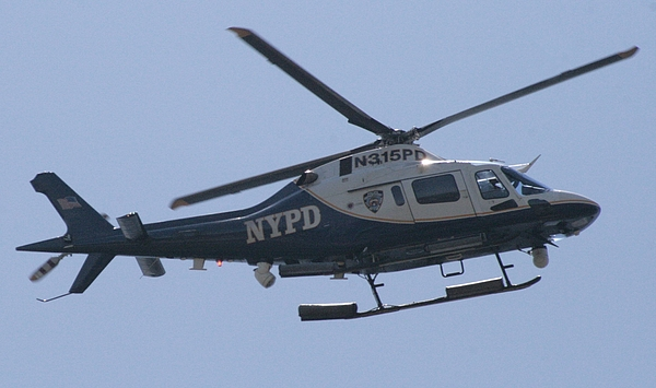 Nypd Aviation Photograph - Nypd Aviation Unit by Christopher Kirby