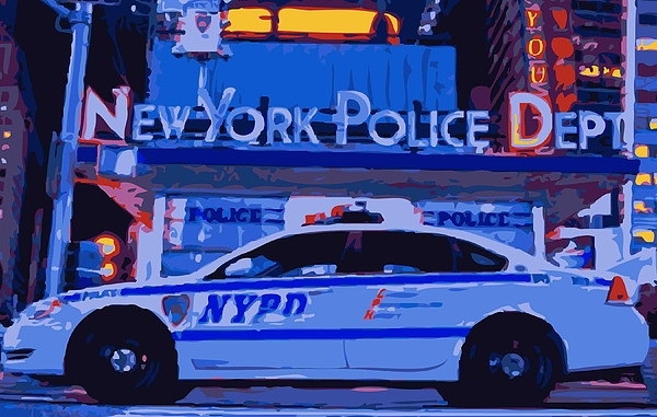 Nypd Photograph - Nypd Color 16 by Scott Kelley
