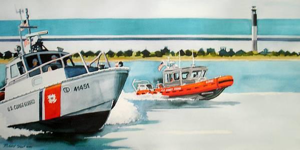 Boats Digital Art - Oak Island Cg by Richard Staat
