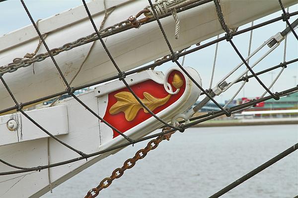 Boat Photograph - Oak Leaf by Rick  Monyahan